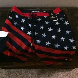 NWT O'Neill Board shorts . 🇺🇸